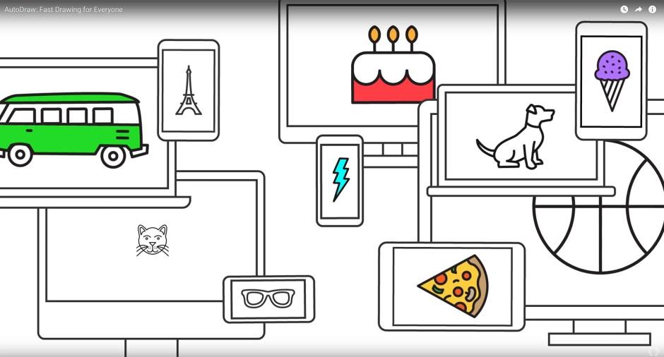 Autodraw de Google: une solution de dessin boostée à l'intelligence artificielle.