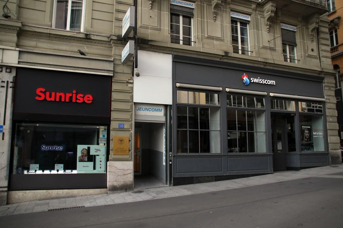 Sunrise UPC pour sécuriser Swisscom à Zurich!