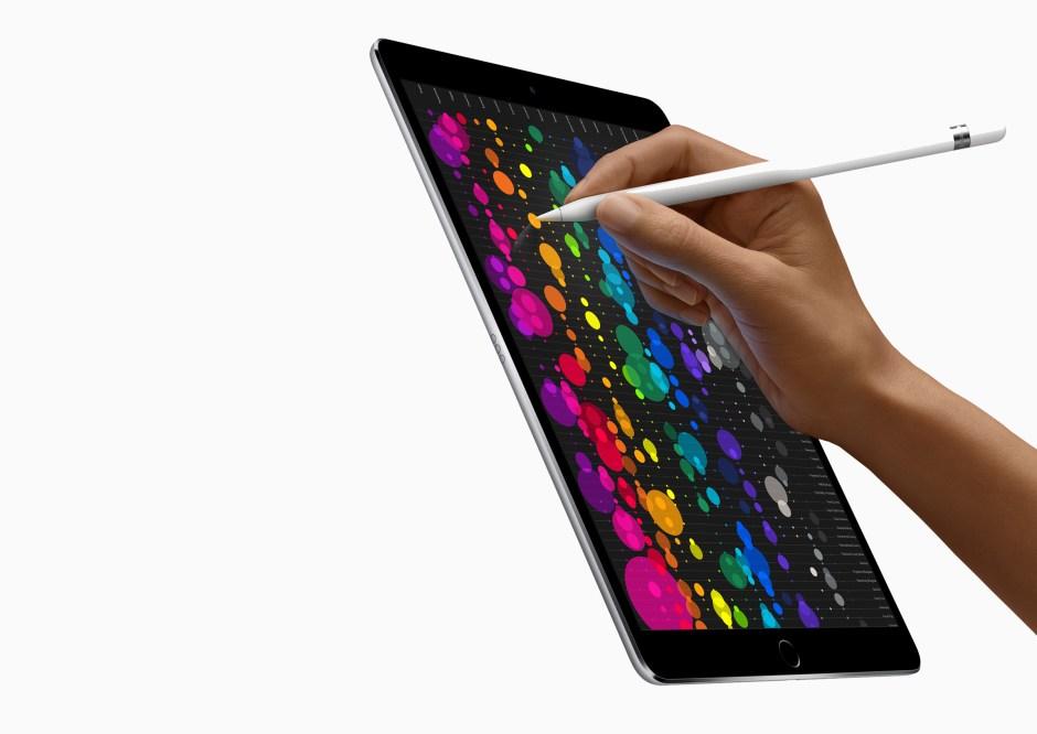 L'iPad Pro avec l'Apple Pencil.