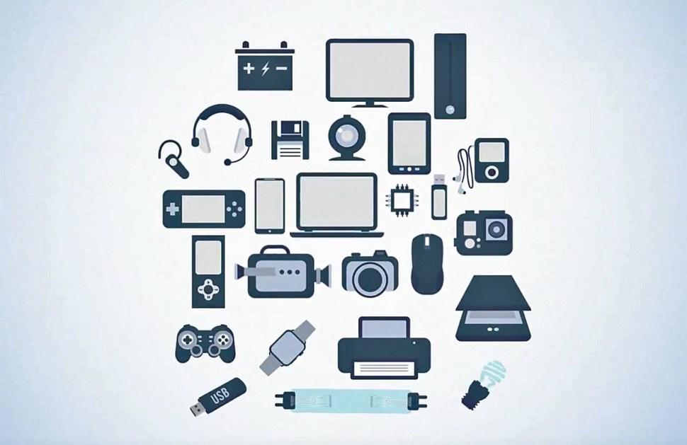 Le volume et le nombre de types de déchets électroniques continue d'augmenter.