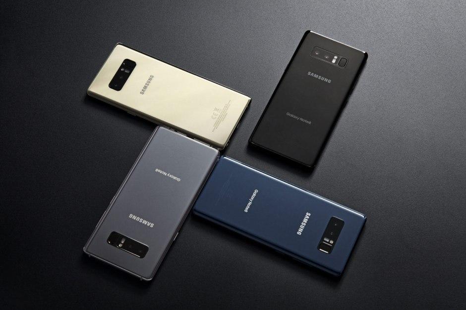 Le Samsung Galaxy Note 8 sera disponible en Suisse à partir de la mi-septembre dans les coloris «Midnight Black» et «Maple Gold» au prix conseillé de 1049 francs