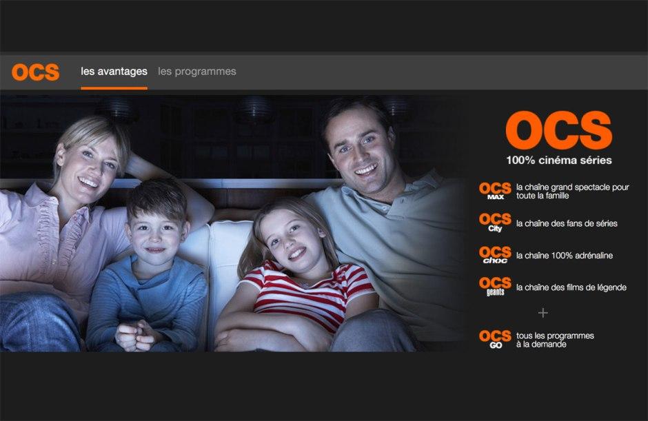 réé en 2008, OCS est un bouquet de chaînes thématiques, dédié au cinéma et aux séries.