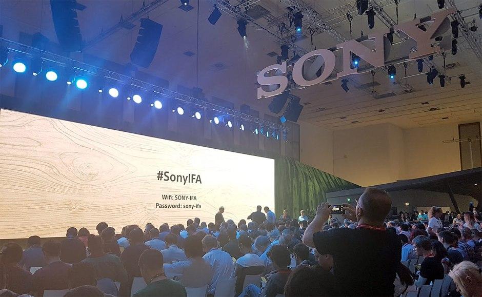 Sony a dévoilé ses derniers produits à l'IFA 2017 de Berlin.