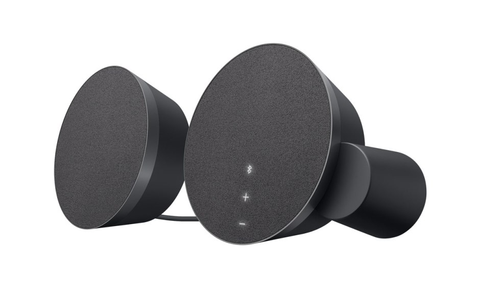 Les haut-parleurs de bureau design MX Sound de Logitech.
