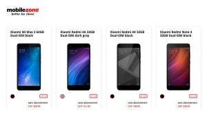 Mobilezone élargit massivement sa gamme de smartphones en ligne