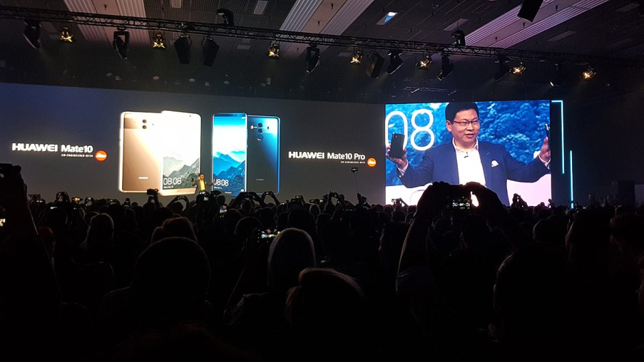 Huawei a lancé à Munich ses Mate 10 et Mate 10 Pro.