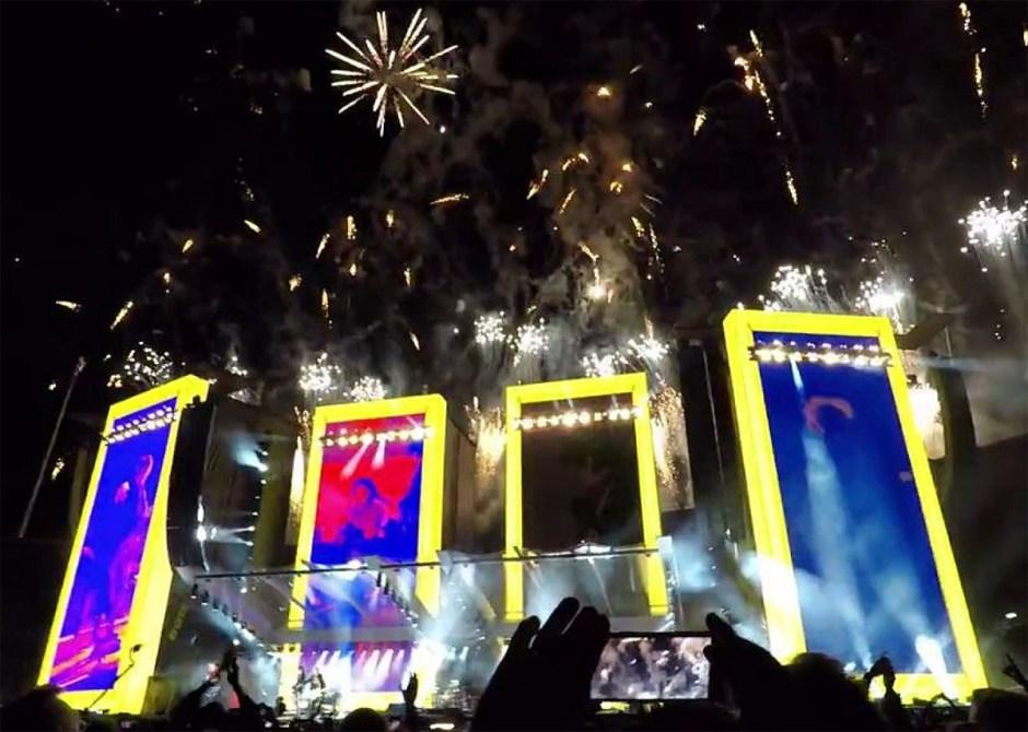 Les spectateurs des Rolling Stones ont largement partagé leur souvenirs sur les réseaux...
