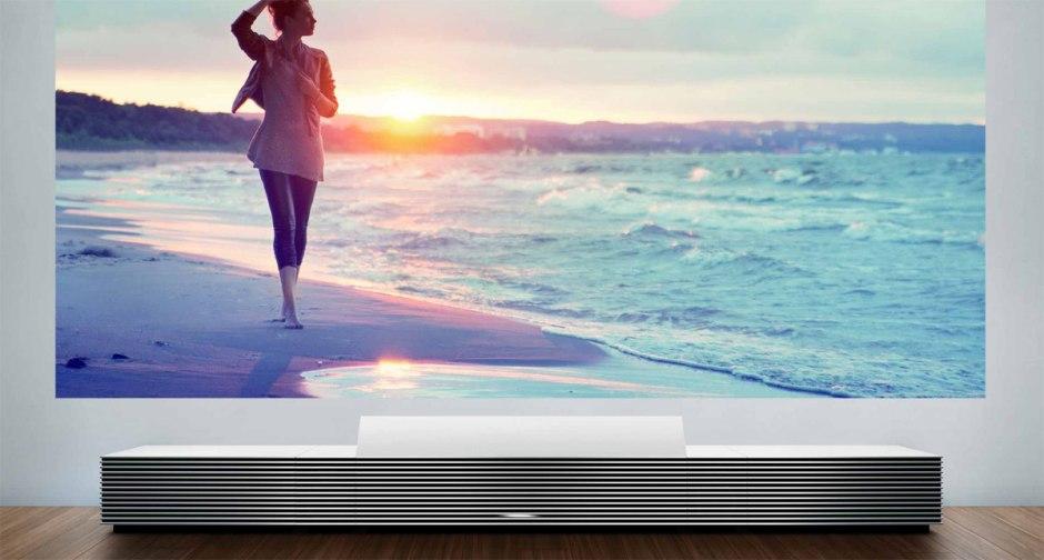 Le projecteur Sony LSPX-W1S: le design et un prix de vente de 50'000 dollars.
