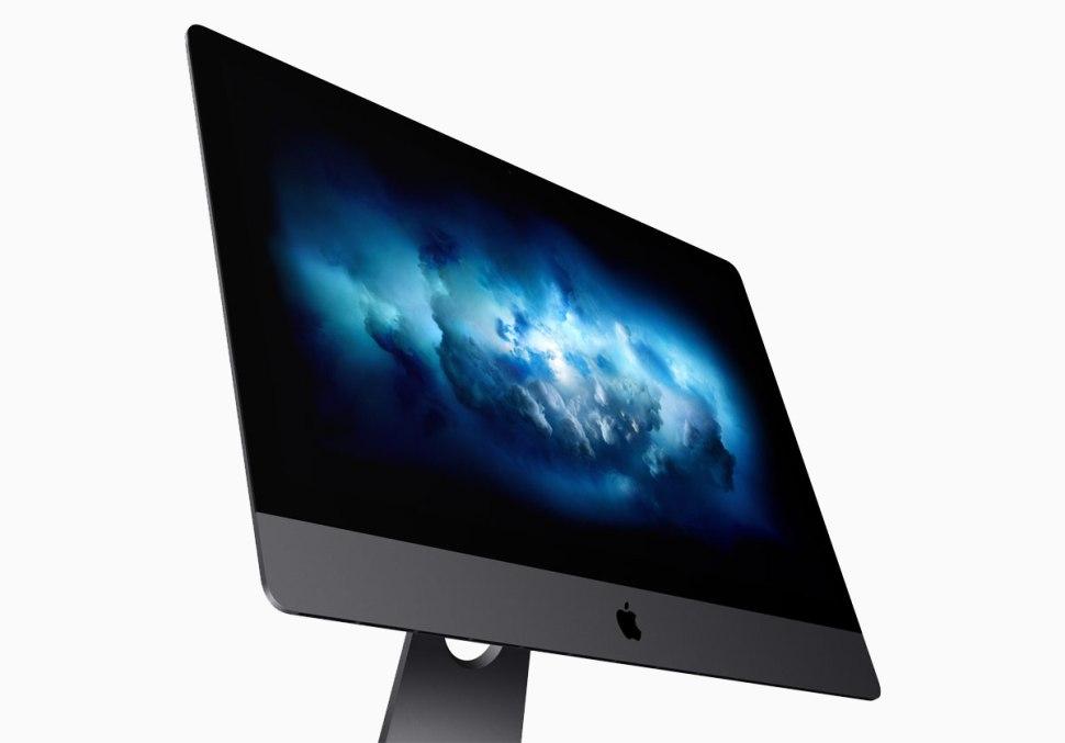 Le nouvel iMac Pro d'Apple et son écran 5K cédé dès 5799 francs.