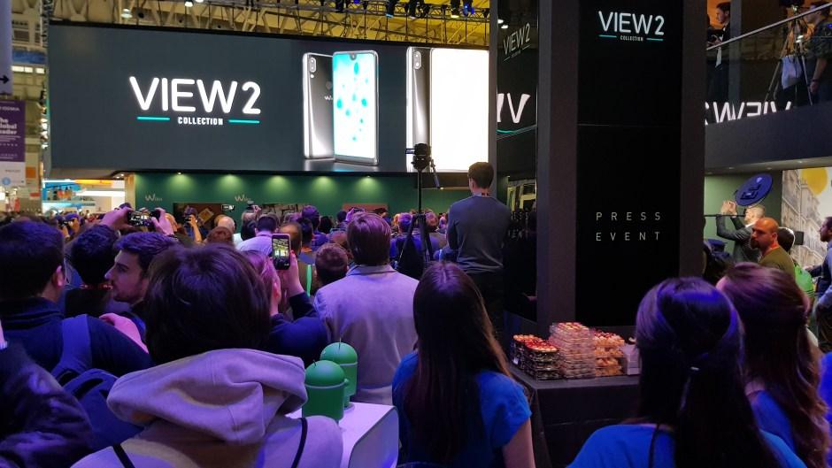 Le Wiko View 2 dévoilé au MWC de Barcelone.