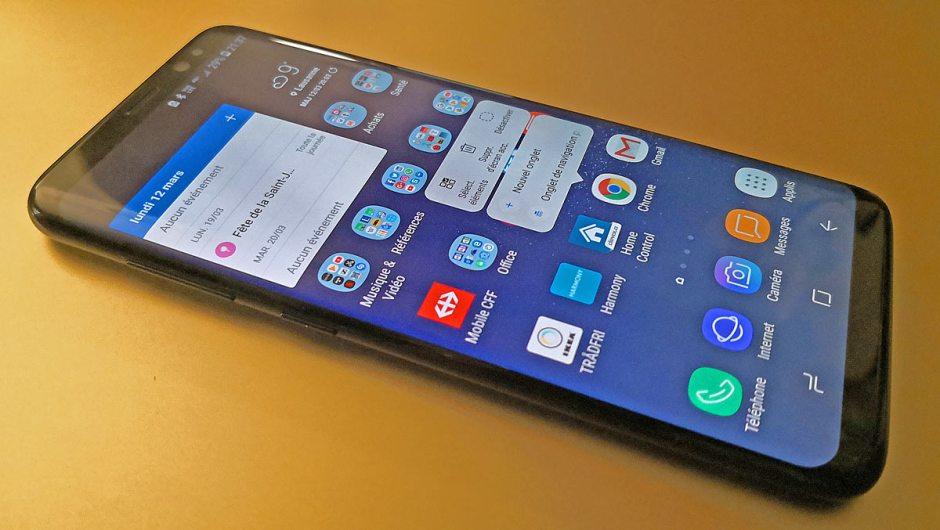 Le Samsung Galaxy S8 enfin sur Android 8.0 Oreo.