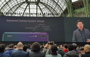 Huawei lance à Paris et en fanfare ses nouveaux P20 et P20 Pro!