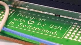 Les entrailles du routeur Salt Fiber Box.