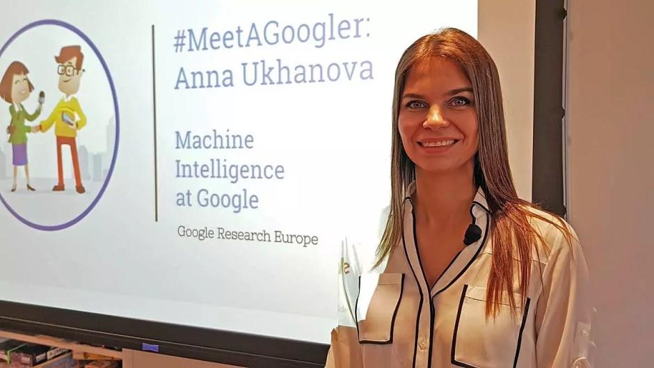 Anna Ukhanova, spécialiste du machine learning à Zurich.