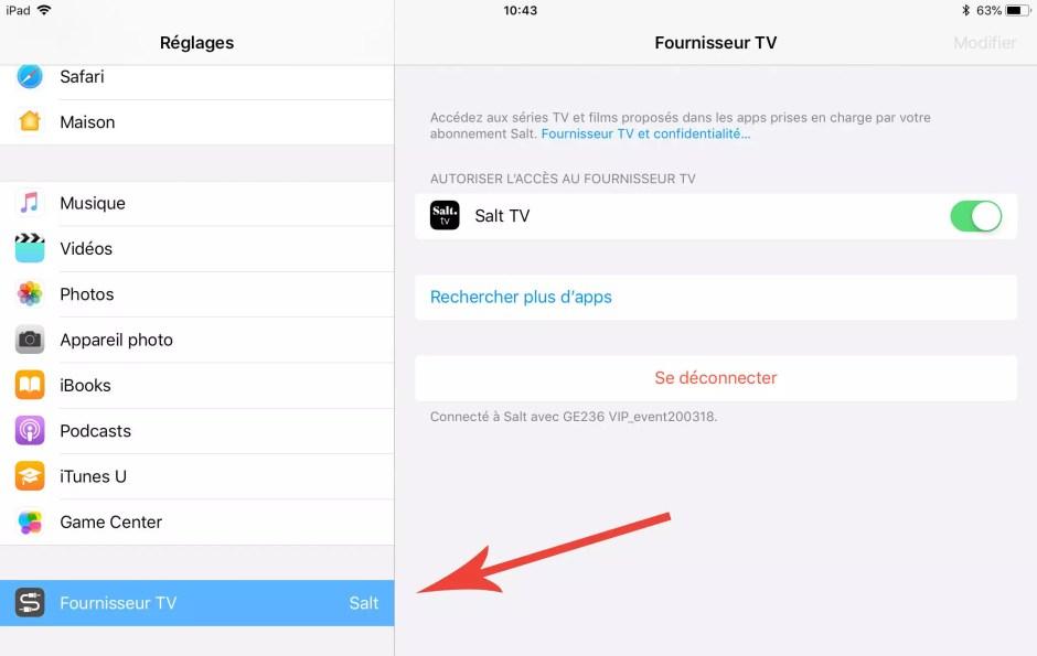 Apple TV 4K: une première mondiale avec Salt!