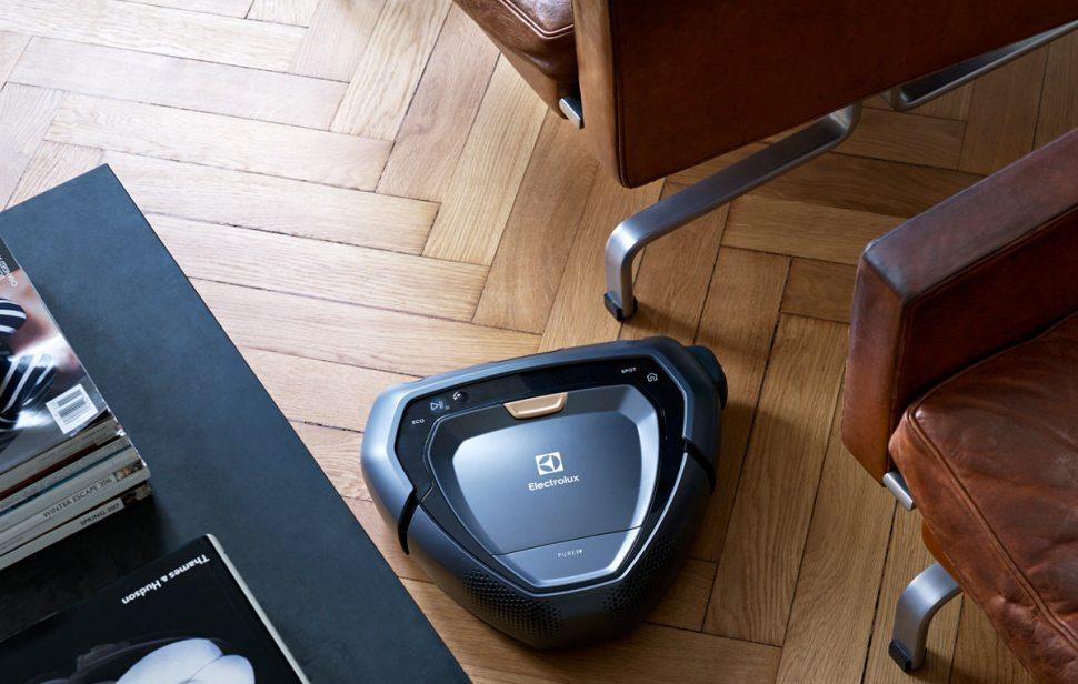 Le robot aspirateur Electrolux Purei9 coûte 1199 francs.