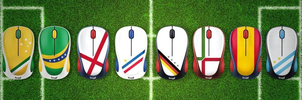 Les souris sans-fil M238 Fan Collection, une nouvelle série destinée aux fans de foot.