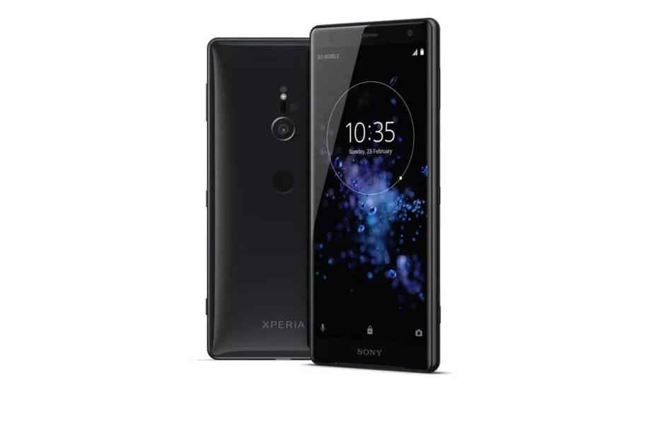 Le Sony Xperia XZ2, animé par le Snapdragon 845.