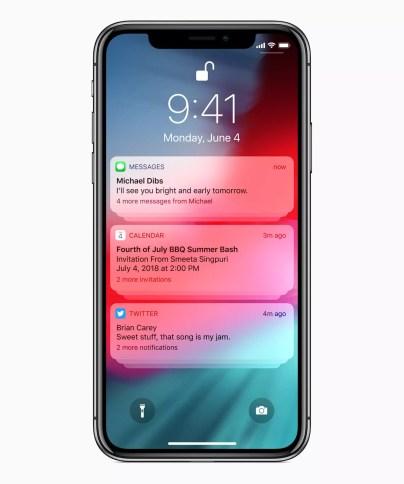 Avc iOS 12, Apple veut vous aider à vous y retrouver dans vos notifications.