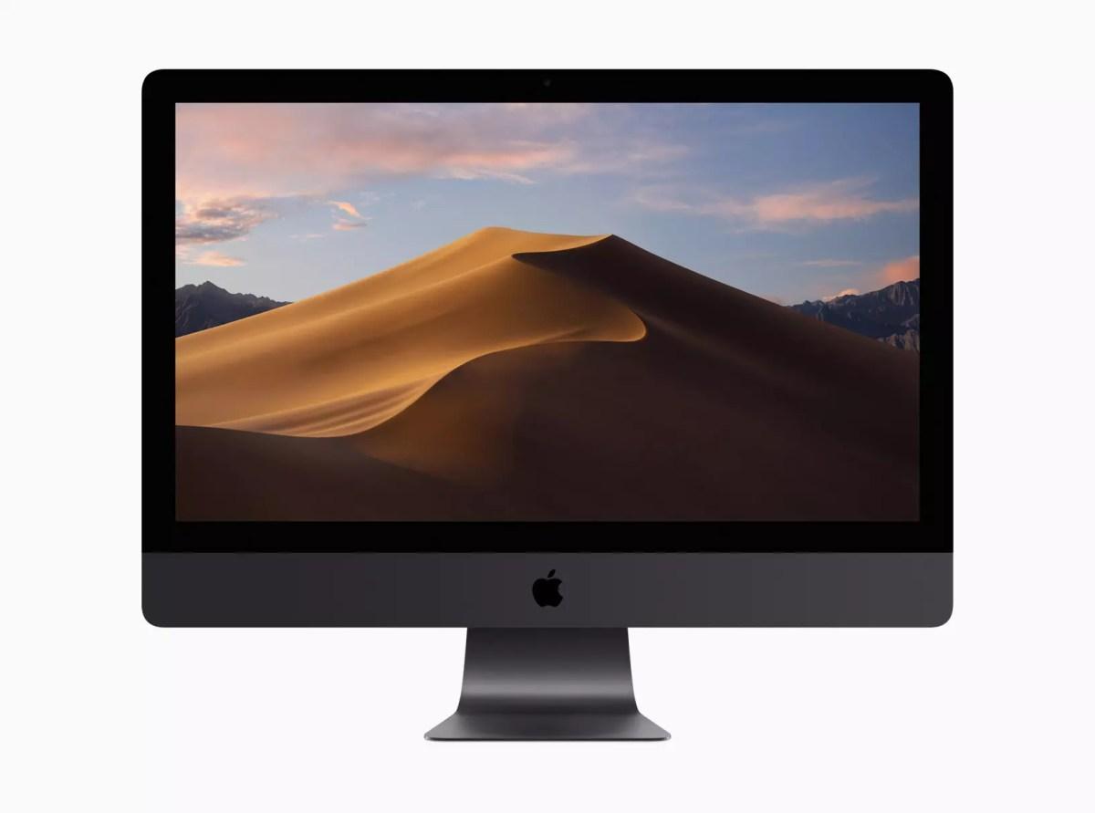 Le nouveau mode sombre de macOS Mojave.