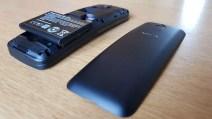 Nokia 8110 4G: coque arrière amovible.