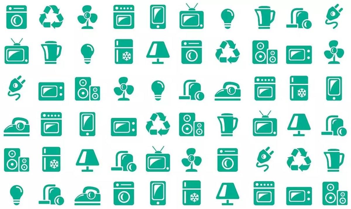 La population de Suisse a rapporté 15 kg de déchets électriques et électroniques en 2017.