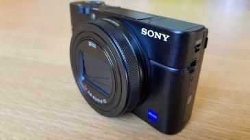 Sony RX100 VI: un design tout en sobriété.