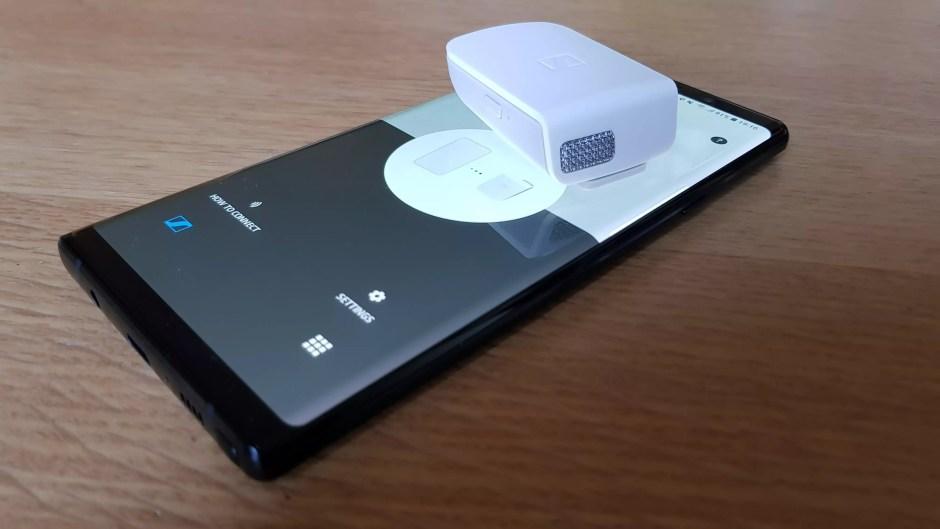 Le micro Bluetooth Sennheiser Memory Mic.
