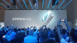 Sony lance l'Xperia XZ3 OLED et un nouveau casque à annulation de bruit à l'IFA 2018