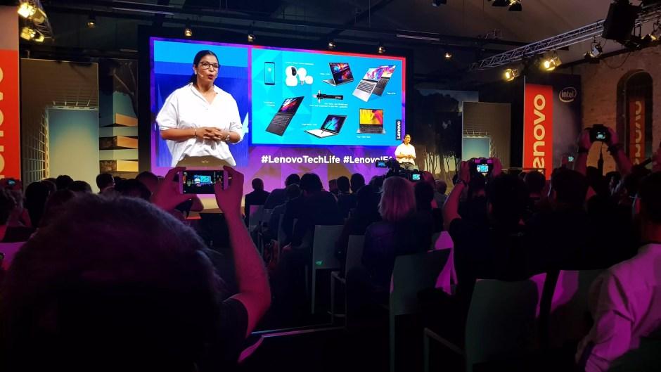 Lenovo se veut être à la pointe de l'innovation en matière d'ordinateurs portables.