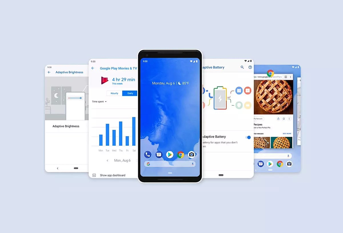 Google déploie Android 9 Pie.