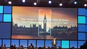 Huawei à l'IFA: intelligence artificielle, Mate 20 Lite et la série Mate 20 le 16 octobre!