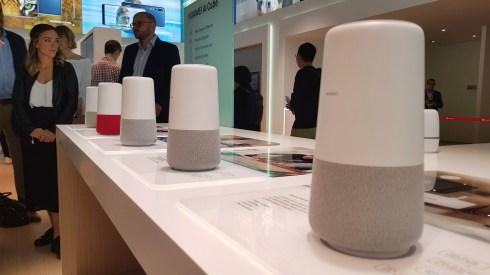 IFA 2018 de Berlin: l'assistant, connecté et modem routeur Huawei A1 Cube.