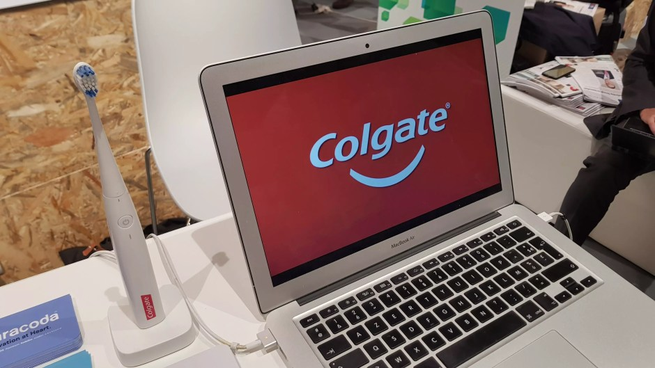 La brosse à dents connectée de Colgate et Kolibree.