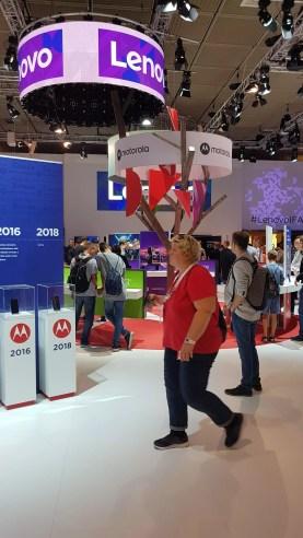 IFA 2018 de Berlin: le stande de Lenovo.