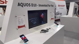 IFA 2018 de Berlin: Sharp persévère sur le marché des smartphones.