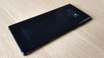 Le design très soigné du Samsung Galaxy Note 9.