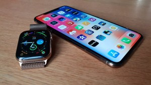 Test: iPhone Xs Max et Apple Watch series 4, premier bilan intermédiaire