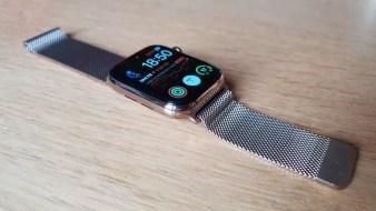 L'Apple Watch series 4.