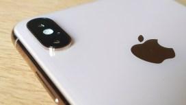 Le double capteur photo de l'iPhone Xs Max.