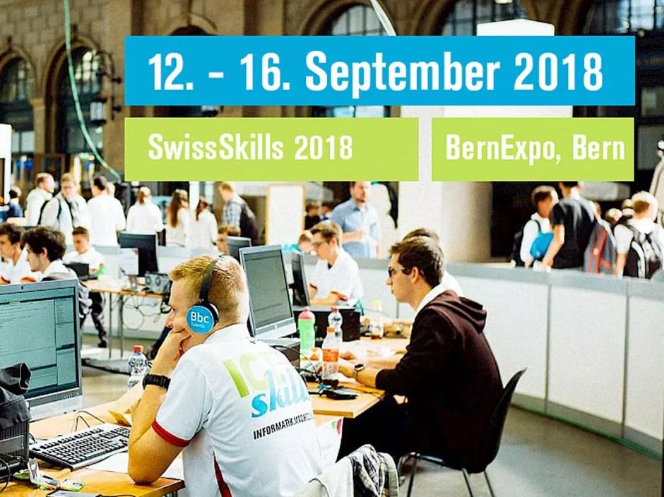 Concours ICTskills 2018 à Berne.