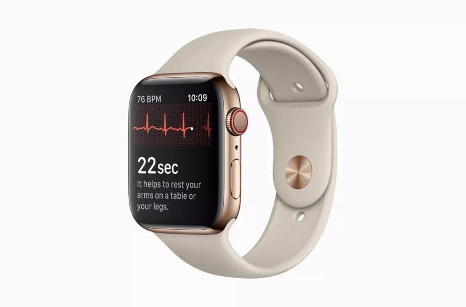 Apple watch series 4. Commande dès les le 14 septembre. Disponibilité le 21 septembre.