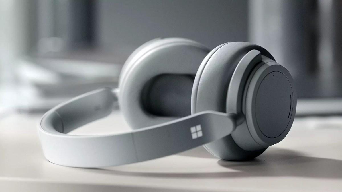 Microsoft Surface Headphones.