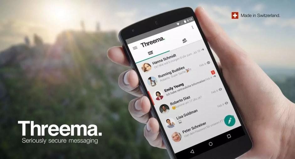 Threema: la copie suisse de WhatsApp.