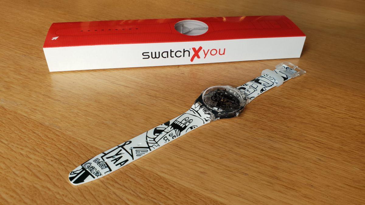 Swatch X You: créez votre votre montre sur mesure.