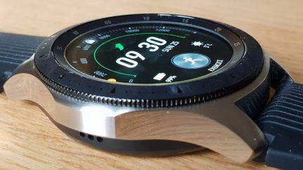 La Samsung Galaxy Watch LTE de 46 mm.