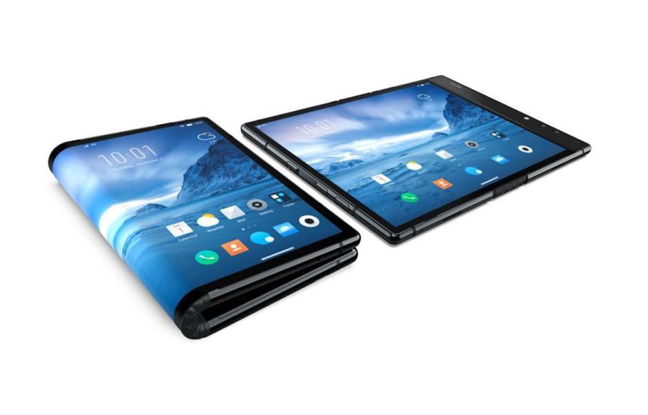 Le premier smartphone pliable est signé Royole.
