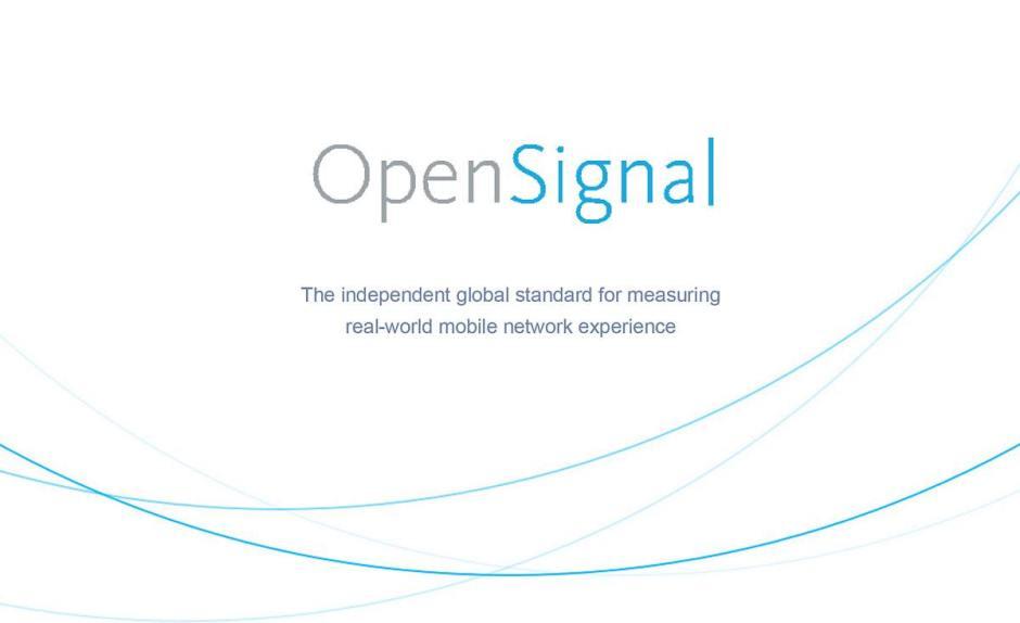 OpenSignal: le comparateur de réseaux.