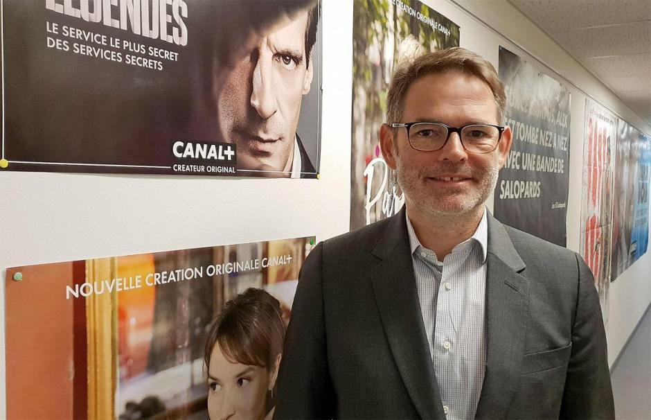 Brice Daumin, Directeur de Canal+ Suisse, table sur 100'000 abonnements d'ici à 2020.