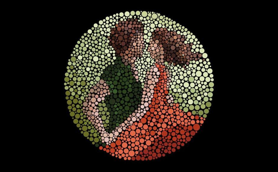 300 000 Suisses souffrent de troubles de la vision des couleurs.